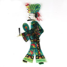 Dynamic shadow puppet Children fun doll Film and television character toy Shaanxi leather doll handicraft China movie Play Props children and television