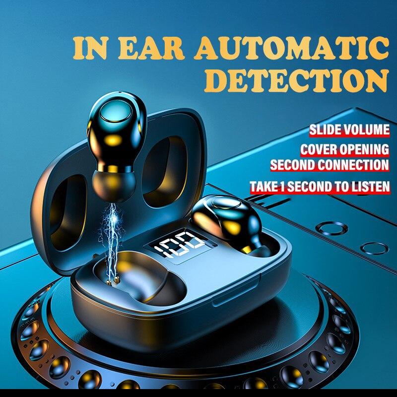 Новые беспроводные мини наушники Swimming Bluetooth5.0 наушники TWS In-ear спортивные наушники для бега Поддержка iOS/Android телефоны HD звонки