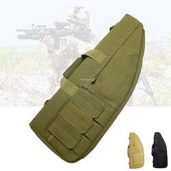 27.5Inch Tactical Hunting Gun Bag Airsoft Paintball Combat Rifle Case Militaire Schouderriem Shotgun Rifle Tassen 70 Cm