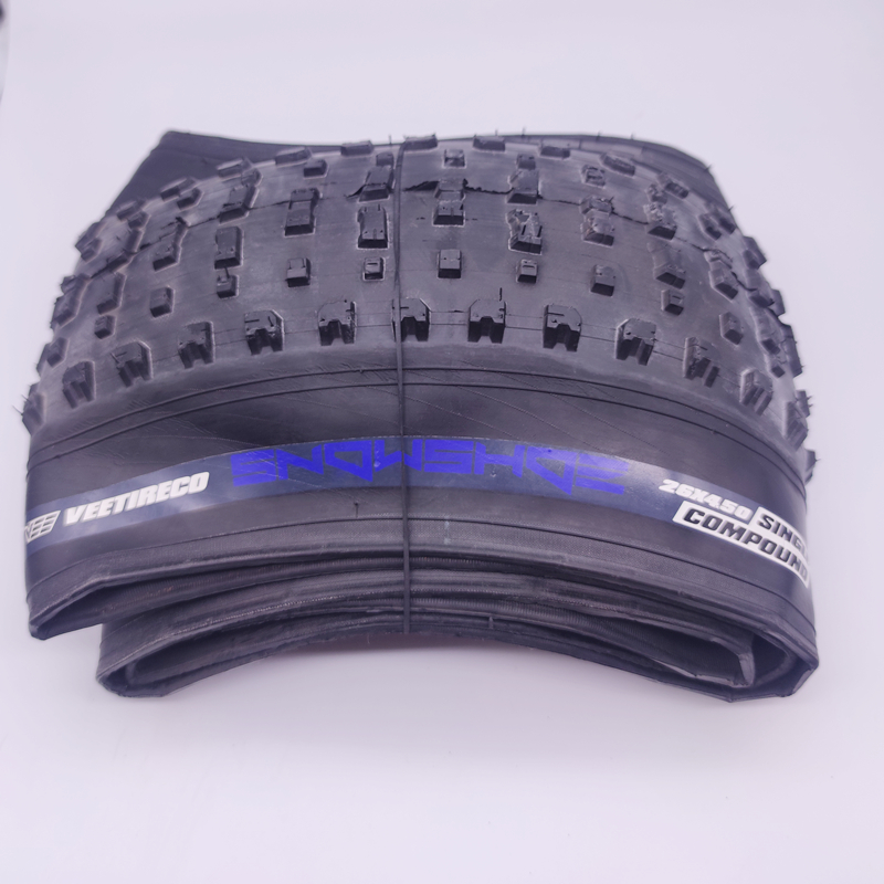 tirego fold tire snow bike Beach car Fat tire bicycle accessories tyre 26 inches bike parts26*4.0/4.5inner tube cycling fat tire