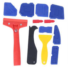 13Pcs Plastik Sealant Remover Kit Penyebar Caulking Scraper Lem Kaca Finishing Tools(China)