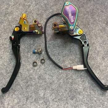 """Motorcycle 7/8"""" Brake Clutch Master Cylinder Hydraulic Pump Lever For Yamaha MT-07 MT-09 XJ6 YBR250 XJR1300 FZ1 FZ6  FZ8 MT03 O1"""