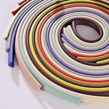 2M U-Shape Table edge Corner Protections Thick Rubber Furniture Desk Cover Protectors Foam Baby Safety Bumper Guard Strip 4