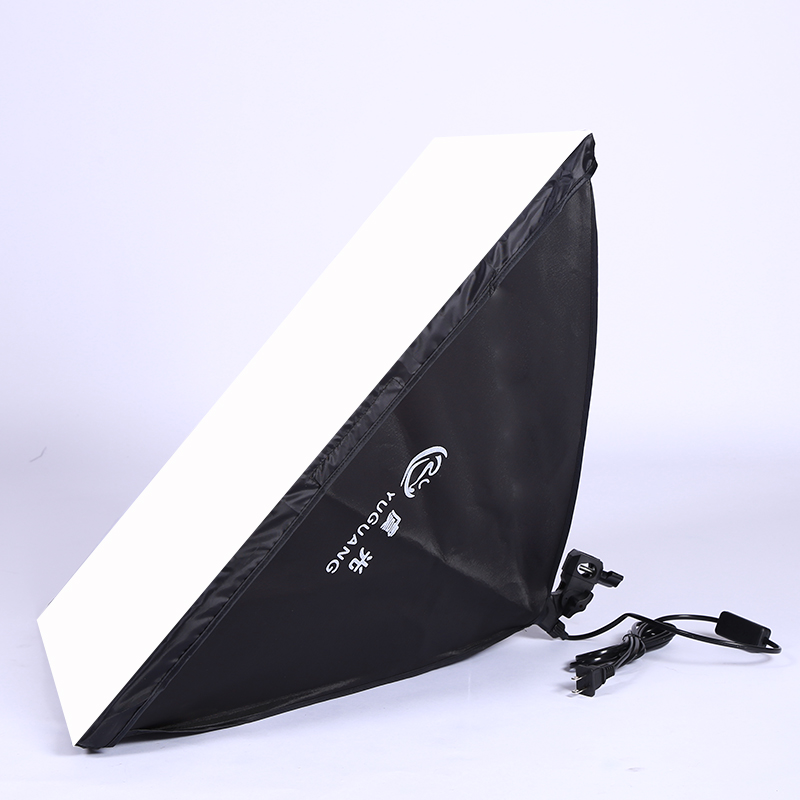 Photo Studio 50*70cm Softbox Diffuser Light E27 Lamp Holder Continuous Lighting Box Tent For Photo Video Photography Kit