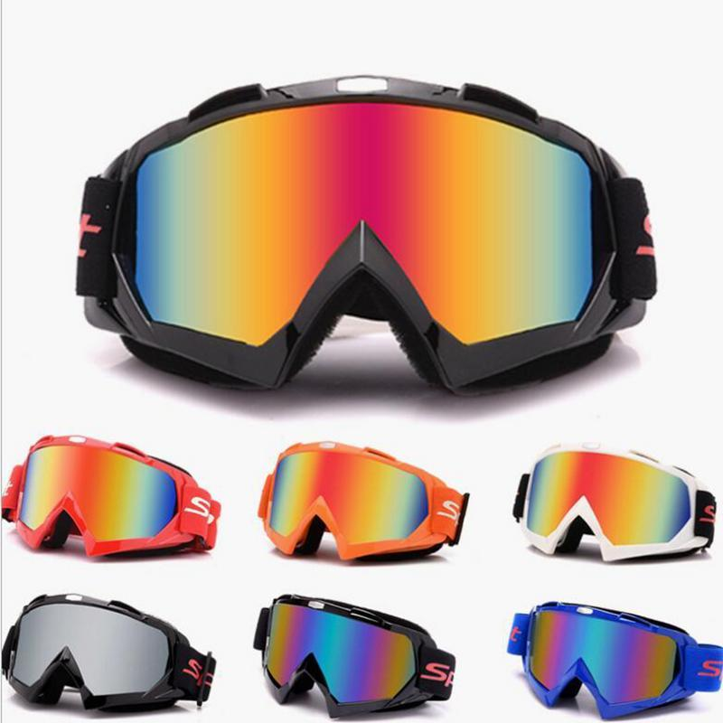 Motocross Motorcycle Goggles ATV Off Road Dirt Bike Dust-Proof Racing Glasses Anti Wind Eyewear Goggles Protection Glasses