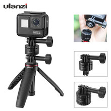 Ulanzi GP 4 Magnetic Quick Release Mount Adapter Easy Installation 1/4 Screw Base Quick Switch Set For Gopro 8 Max 7/6/5 Camera