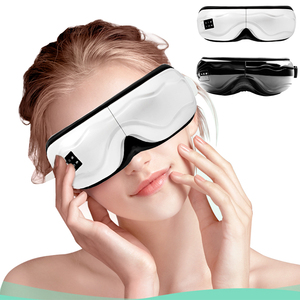 Rechargeable Smart Eye Massager Magnets Acupoints Massage Vibrate Eye Care Fatigue Stress Relief Goggles Improve Eyesight