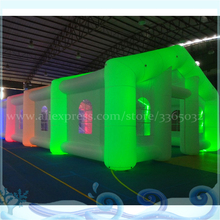 цена China Exhibition inflatable tent outdoor air marquee advertising gazebo commercial event tent exhibition wedding tent for sale в интернет-магазинах