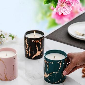 Nordic Ceramic Cup Scented Candle  1