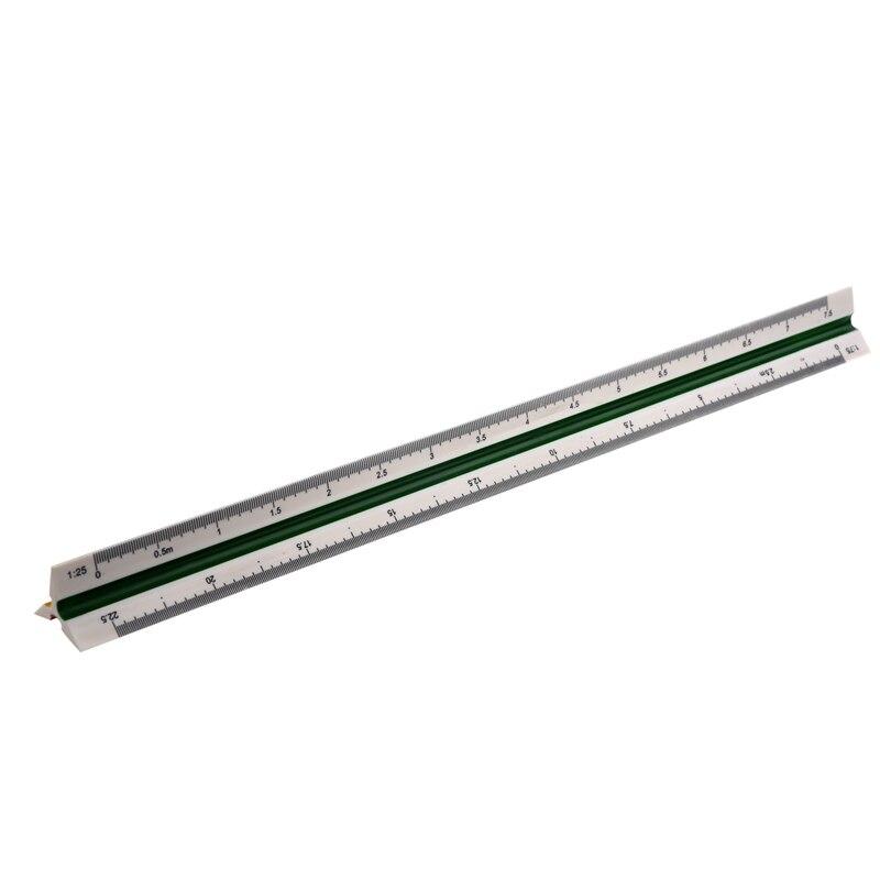 1:20 1:25 1:50 1:75 1:100 1:125 Plastic Triangular Scale Ruler