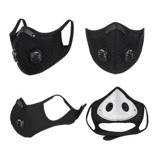 Image 3 - WEST BIKING Sport Face Mask Activated Carbon Filter Dust Mask PM 2.5 Anti Pollution Running Training MTB Road Bike Cycling Mask