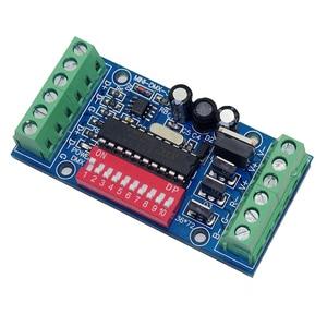 Мини 3CH DMX512 декодер 3CH * 5A 15A DC5V 12В 24В MINI-DMX-3CH для светодиодных RGB контроллеров светодиодные полосы света ленты DMX 512 консоли