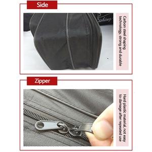 Image 5 - שלוש שכבה לעבות ללבוש עמיד עמיד למים חכת דיג שקית רב תכליתי גדול קיבולת חכת דיג להתמודד עם תיק