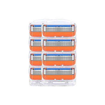 100pcs/set Razor Blades For Men 5 layer facial care shaver cassettes shaving blades