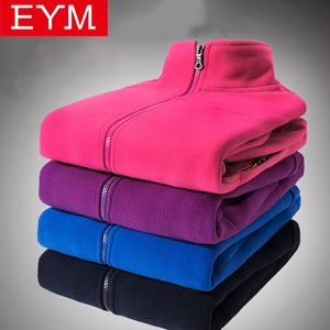 2019 New Arrival Autumn Winter Women Fleece Sweatshirts Long Sleeve Running Style Solid Color Warm Coat Female Zip up Clothes(China)