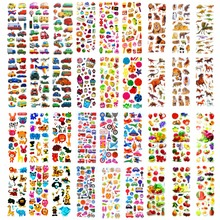 36 Sheets Lots Different Wholesale Various Kawaii Reward Kid Toys Scrapbooking Bubble Puffy Stickers Factory Direct Sales зонт складной kawaii factory kawaii factory ka005dwtpv46
