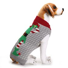 Christmas Pet Dog Clothes For Small Large Dogs Xmas Puppy Big Dog Sweater For French Bulldog Yorkies Dogs Pets Clothing Pullover(China)