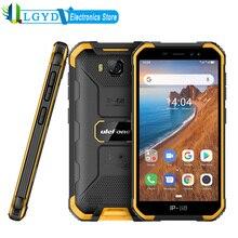 Ulefone ARMOR X6 3G LTE โทรศัพท์มือถือ 4000 mAh แบตเตอรี่ 5.0 นิ้วหน้าปลดล็อค 8MP จริงกล้อง Android 9.0 dual SIM Dual Standby