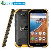 Ulefone-móvil Armor X6 3G, 5,0 pulgadas, desbloqueo facial, Android 10,0, SIM Dual, Quad Core RAM, 2GB de ROM, 16GB, desbloqueo facial ed