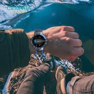 Image 4 - E15 חכם שעון גברים ספורט שעונים IP68 עמיד למים GPS מסלול קצב לב לחץ דם מזג אוויר Smartwatch PK P8 שעון