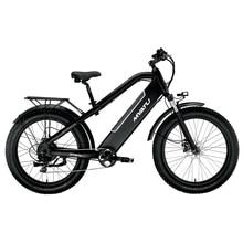 купить MYATULithium electric mountain bike one wheel bicycle rear shock absorber shock soft tail folding built-in 48v battery дешево