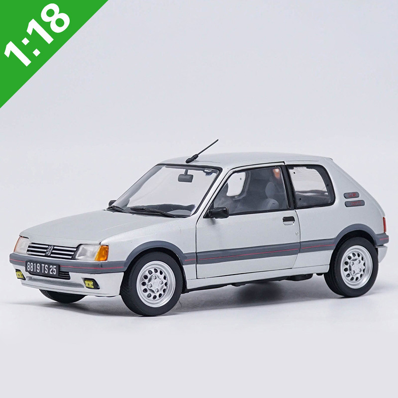 1:18 High Meticulous 1991 PEUGEOT 205 GTI Alloy Model Car Static Metal Model Vehicles With Original Box