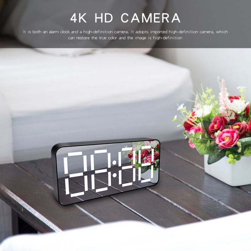 Special Section H16 Mini Camera Wireless Wifi 1080p Hd Ip P2p Dvr Camcorder Alarm Clock Motion Sensor Ir Security Cam Soft And Antislippery