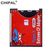CHIPAL czytnik kart SD do CF SDHC SDXC do standardowego kompaktowego czytnika kart typu Flash I czytnik kart UDMA
