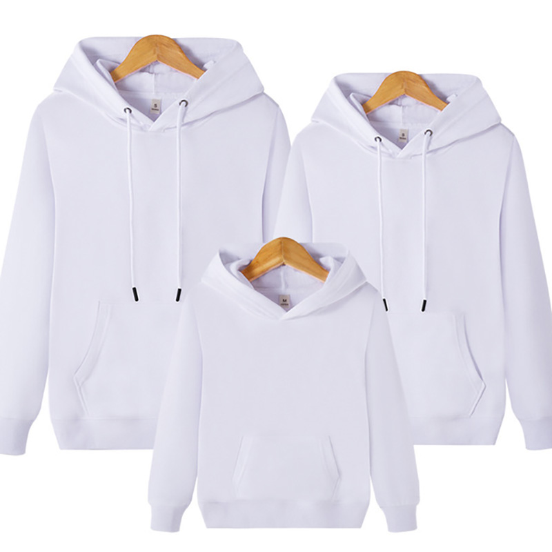 Matching Family Outfits Plus Size Father Mother Daughter Son Hoodies Long Sleeve Blouse Solid Autumn Women Men Girl Boy Clothes