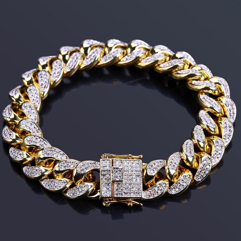 Zlxgirl bijoux de mariée clair AAA cubique zircon cuivre bracelet Nigeria bijoux élégant romantique pavé réglage de cadeau unisexe