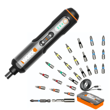 Electrical-Screwdriver-Set Drill Rechargeable-Handle Worx Wx240 Cordless Electric Mini
