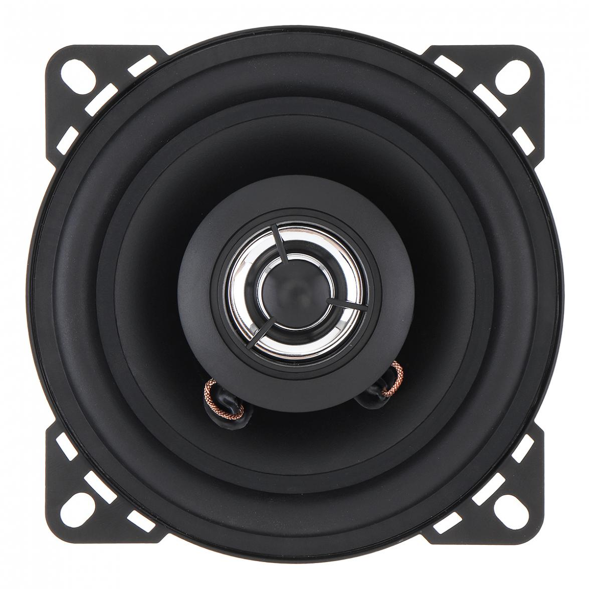 1pcs 12V 4 Inch 10mm <font><b>50W</b></font> 2-Way Car HiFi Coaxial <font><b>Speaker</b></font> Vehicle Door Auto Audio Music Stereo Full Range Frequency <font><b>Speakers</b></font> image