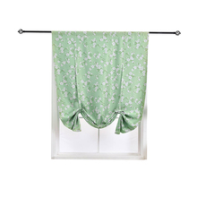 Window Blackout Curtain Kitchen Short Curtain Flower Printed Curtain for Bedroom Living Room Panel Treatment Drapes Curtain floral curtain for living room print voile for window bedroom linen curtain blackout drapes kitchen treatment pastoral x513 30