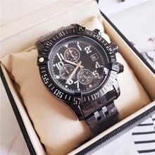 Luxury Men Business Wrist Watch Men's Watch Chronograph Quar