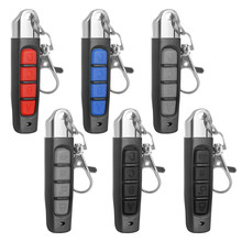 Hot 4 Buttons Universal Replacement Garage Door Opener Car Gate Cloning Remote Control Key Wireless Transmitter Switch Fob433MHZ(China)