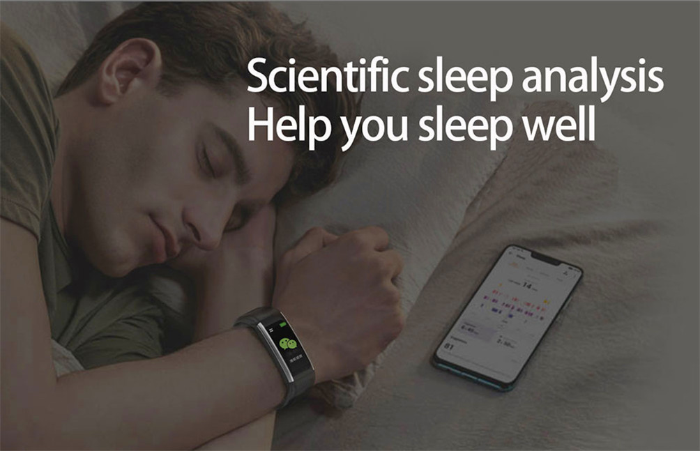 H8333322699464bbe89709e11cdd2047eH 2020 Smart Wristband Fitness Bracelet Blood Pressure Measurement Smart Bracelet Heart Rate Waterproof Pedometer Smart Band Watch
