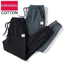 Pantalon de jogging pour hommes, Streetwear, survêtement pour Fitness, 2 pièces, noir gris, vêtements de sport en coton