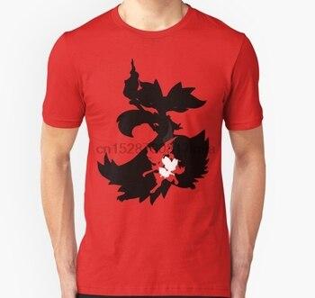 Camiseta de hombre Fennekin Braixen Delphox (línea de evolución) camiseta Unisex para mujer camiseta camisetas top