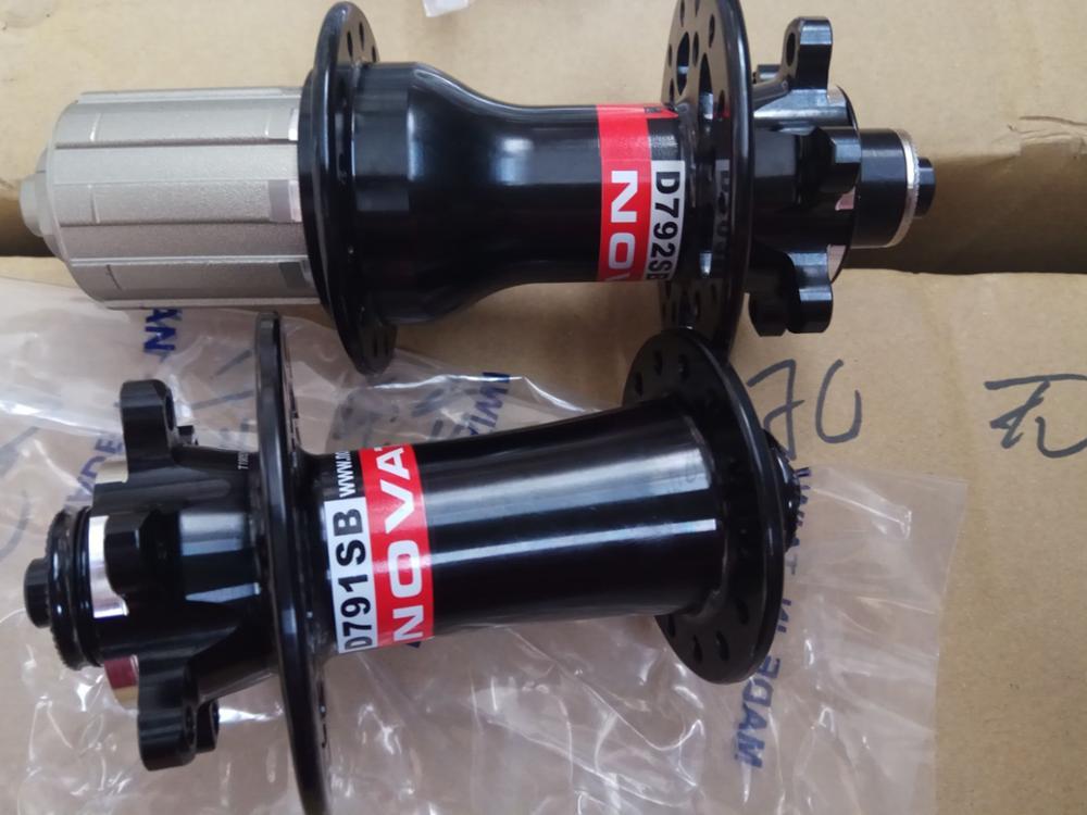 Novatec rueda trasera disc SL buje MTB d792sb//a-11s 135mm QR
