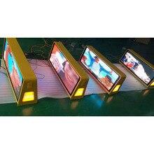 Низкая стоимость высокая яркость автобус такси крыша знак led p4 светодиодный модуль открытый, наружная p4 рекламная Светодиодная панель