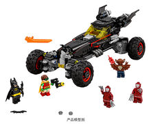 559Pcs 70905 Legoinglys Echt Superhero Movie Serie De Batman Robbin Mobiele Set Bouwstenen Bricks Speelgoed(China)