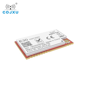 Image 5 - SI4438 433MHz RF módulo TCXO ebyte E30 433T20S3 SMD puerto Serial transceptor inalámbrico 100mW 2500m conector IPEX de largo alcance