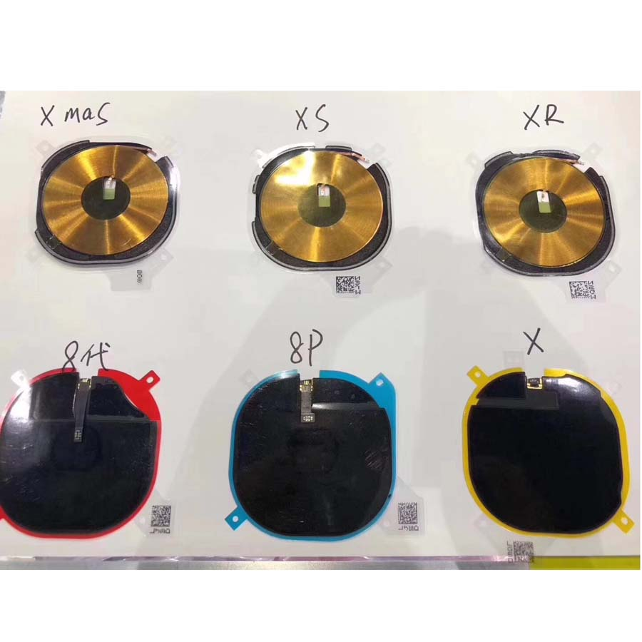 NFC Chip For IPhone 8g 8 Plus For IPhone X Wireless Charging Panel Coil Sticker Flex Cable Ribbon Antenna Sensor