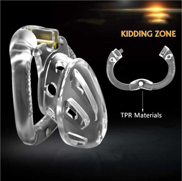 2020 new Kindding zone Penis Cage Sexy Accessories Adult Penis Cage With Male Chastity Device Cock Cage Penis Lock Cage