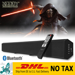 XGODY 1011A Bluetooth Speaker Soundbar tv Aux-In USB Audio Sound bar For IOS Android Phone TV Home Theater Music Movie Speakers