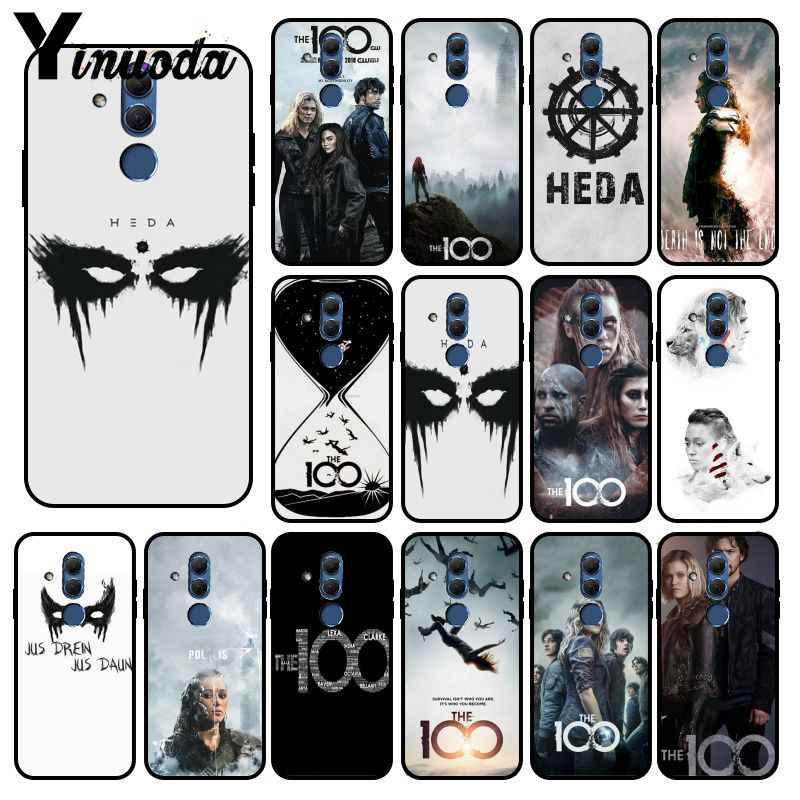 Yinuoda Heda Lexa Il 100 TV Show di Stampa FAI DA TE Cassa Del Telefono Borsette Per Huawei P20lite Mate10 20 Lite Mate10 Pro 20X Nova3 3i Y5II Y6II