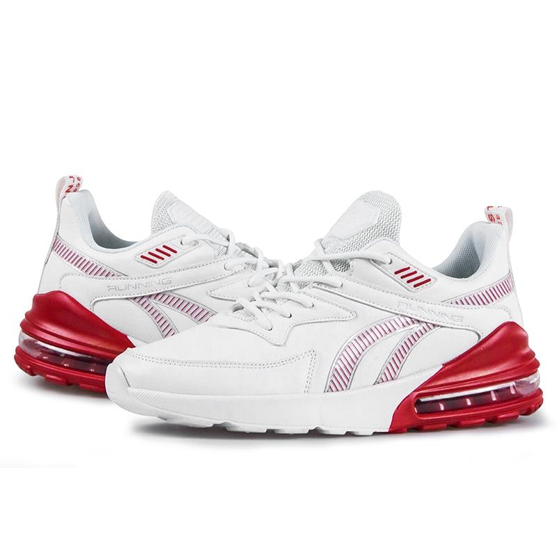 Осень Обувь с дышащей сеткой на шнуровке спортивные кроссовки для бега, способный преодолевать Броды для взрослых мужские большие размеры ...