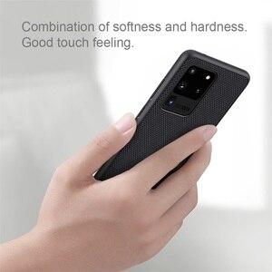 Image 2 - עבור סמסונג גלקסי Samsung Galaxy S20 Ultra S20+ Plus 5G בתוספת מקרה NILLKIN מרקם ניילון סיבי מקרה החלקה דק וקל כיסוי אחורי עבור Samsung S20