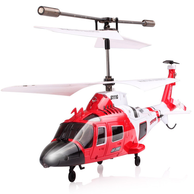 Original  SYMA S109G alloy gunship anti-fall remote control helicopter children's remote control toy 5