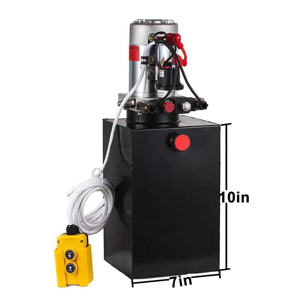 6L kahepoolse toimega elektrilise hüdropumba toiteallika komplekt, - Elektrilised tööriistad - Foto 2